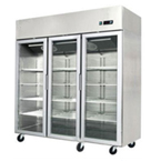 THREE GLASS DOOR CHILLER/FREEZER