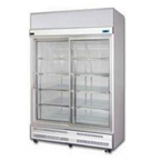 TWO SLIDING GLASS DOOR CHILLER/FREEZER
